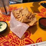 Free chips and salsa, and queso with Yelp check-in