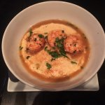 Shrimp & Grits appetizer