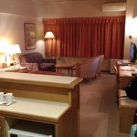 Quite large (comparing to usual Toyoko inn's rooms)