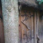 Porte d'entrée de la cabane des Elfes