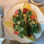 Watercress Salad at Downey's Santa Barbara