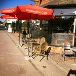 Continental cafe exterior