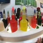 Tons of colourful syrups