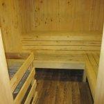 Sauna room at Aspen Mountain Chalet
