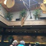 Sunny Atrium at Cheddar's Scratch Kitchen