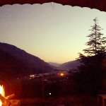 Autumn Nights by a Bonfire at Hindukush Heights