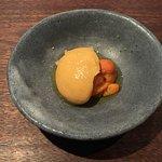 sea urchin - chickpea, hozon