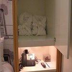 Bath gowns & storage