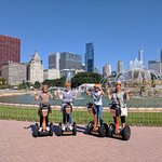 We stopped at Buckingham Fountain. There were several stops and plenty of time for fun photos!