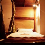 Bunk Bed with Personal Reading Light, Power Sockets & Curtains