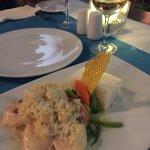 Pina Colada shrimp....yum!