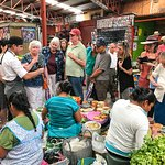 Chef Ruben lead food tour of San Miguel market