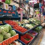 vegetable stand San Miguel market