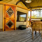 Safari Tent Deck