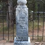 Doc Holliday headstone