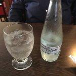 Harrogate spring water, sparkling