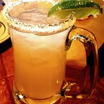 Top things off with a Margarita..so good.
