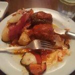 Tapas: Albóndigas,Chorizo al Vino, Patatas Bravas & Jamon