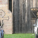 Front of Mortal Keys. The brewery