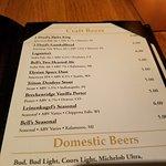 craft beer list
