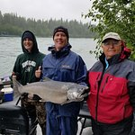 35lb King Salmon caught on Kenai River