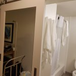 The amazing bathroom sliding door