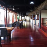 This is what you see as you walk into the restaurant; so warm and inviting!