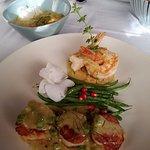 Jumbo Prawns & Jumbo Sea Scallops with Green Curry