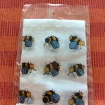 My gorgeous honey bees hanky !!! So cute !!! ♥️