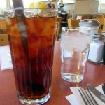 Ice Tea, Margie's Diner, Paso Robles, Ca