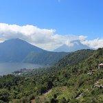 Mount Abang and Mount Agung