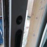 poignée de porte fenêtre ( juste une vis )