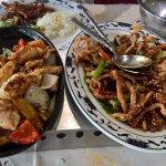 Poulet ti-pan et porc caramélisé
