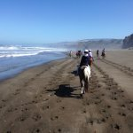 Ritt am Irish Beach