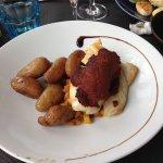 poisson et croustillant de chorizo, délicieux et super copieux