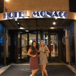 A fun evening in the city at the Hotel Monaco