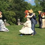 Dancing statues by Seward Johnson