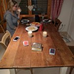Cards and raclette