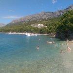 Hotel Soline public beach