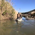 Paddling on the Doring River