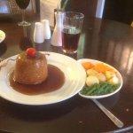 Beef suet pudding