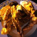 Lobster tails & jumbo prawns