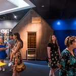 """The Unabomber's cabin is on display in the """"Inside Today's FBI"""" exhibit."""