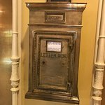 Mail box in the lobby.