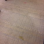 Stains on carpet