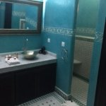 bathroom in cassiopee suite