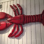 The Station House - Lobster decorations