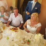 Our beautiful wedding in Torri del Benaco 27/7/2017. We had our wedding meal at the Hotel Gardes
