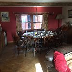 The 'common area' for the B&B folks, including breakfast area