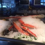 King Crab Legs on Display